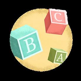 アルファベットキューブ