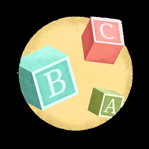 Cubi di alfabeto