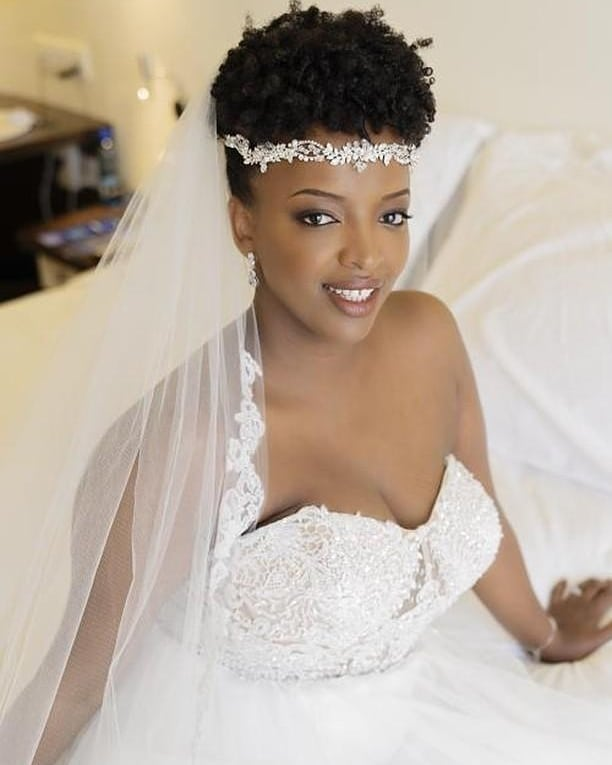 How beautiful was Roxanne on her big day