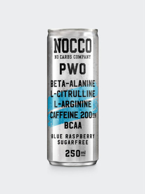 NOCCO PWO Blue Raspberry 24 st