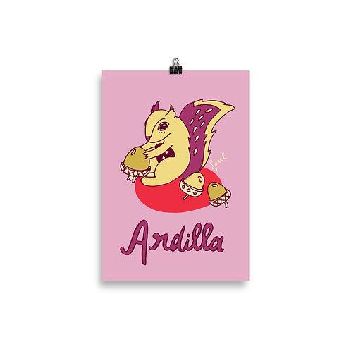 Ardilla: Playful kids poster by Spiel