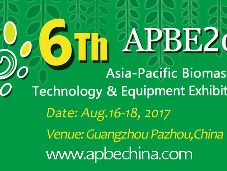 Asia-Pacific Biomass Energy (APBE) in China, 2017