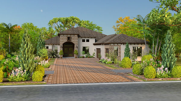 Monet Floorplan - Day - Smith Custom Homes Tampa