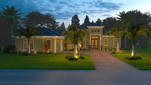 Raphael Floorplan - Smith Custom Homes Tampa