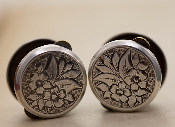 Pair of Silver Dress Studs