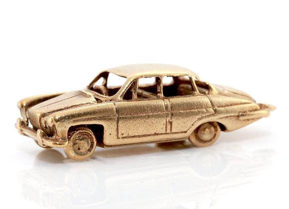 Gold Car Charm
