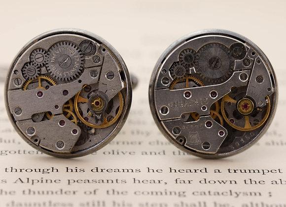Old Watch Movement Cufflinks