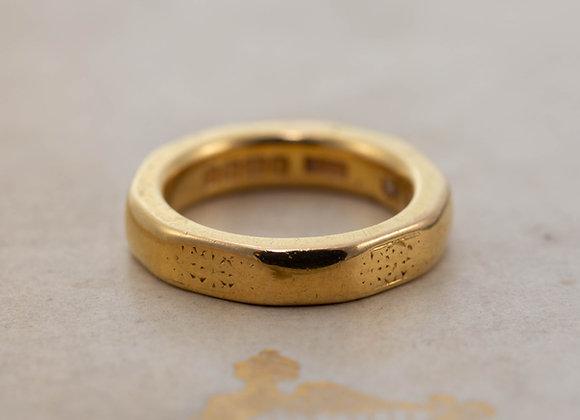 22 ct Gold Heavy Wedding Band