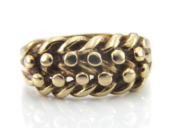 Gold Wheat Sheaf Ring
