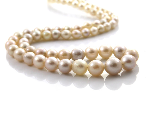 Single Strand Graduated Cultured Pearl Necklace