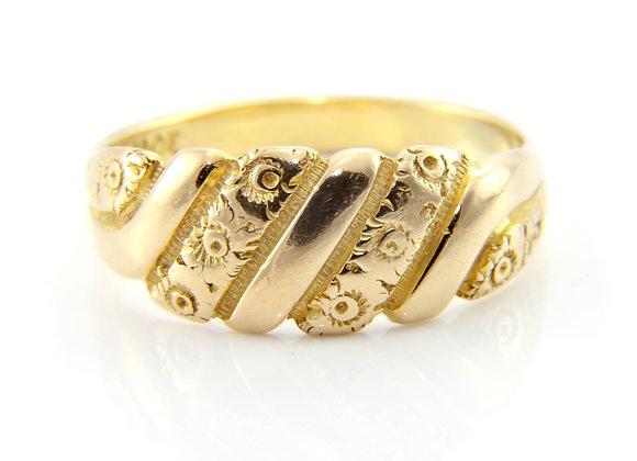 Gold Dress Ring