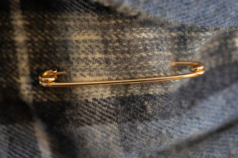 Large Gold Kilt Pin
