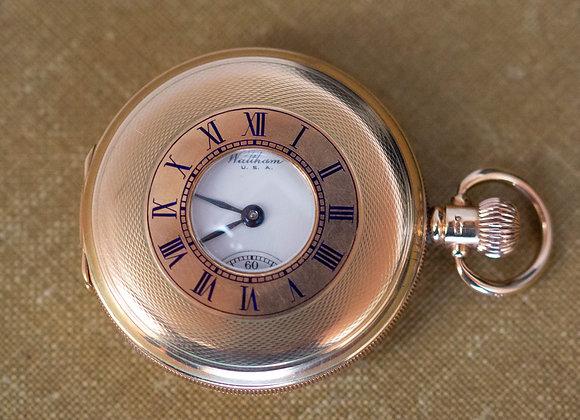 Waltham Half Hunter Pocket Watch
