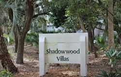 Shadowwood Villas Sign