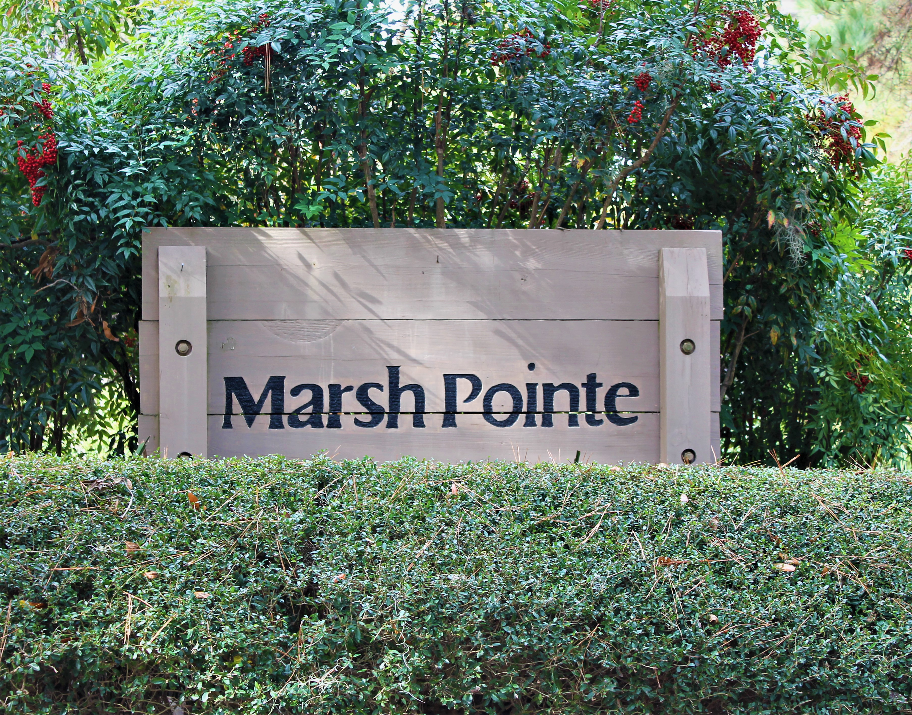 Marsh Pointe Sign