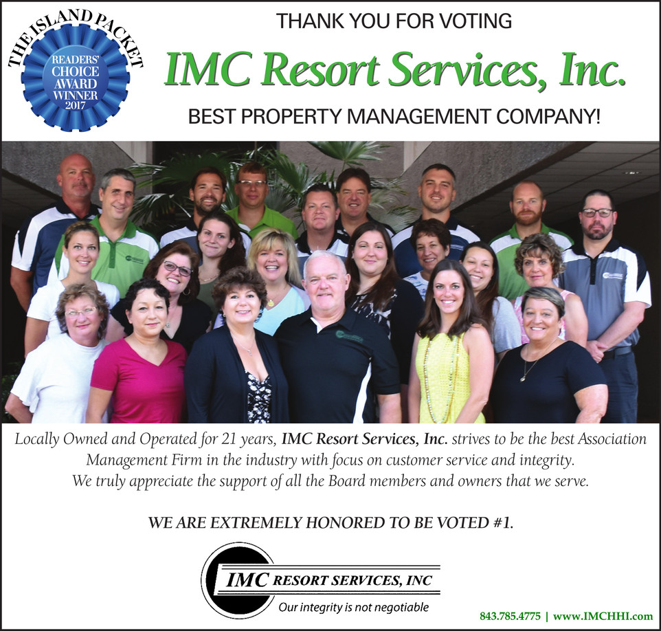 THANK YOU FOR VOTING IMC RESORT SERVICES, INC. #1