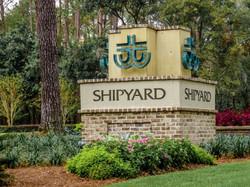 Shipyard Entrance Sign