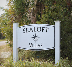 Sealoft Villas Sign