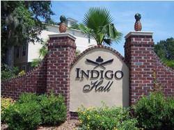 Indigo Hall Entrance Sign