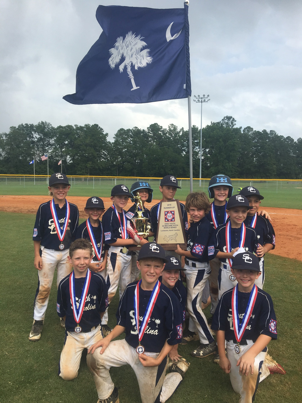 CONGRATS to the Hilton Head 8U Machine Pitch Baseball Team!