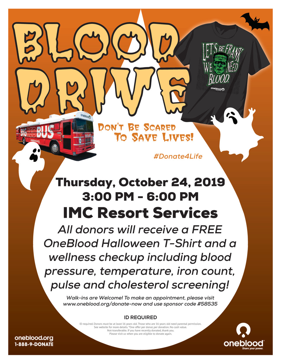 THIS THURSDAY - COMMUNITY BLOOD DRIVE