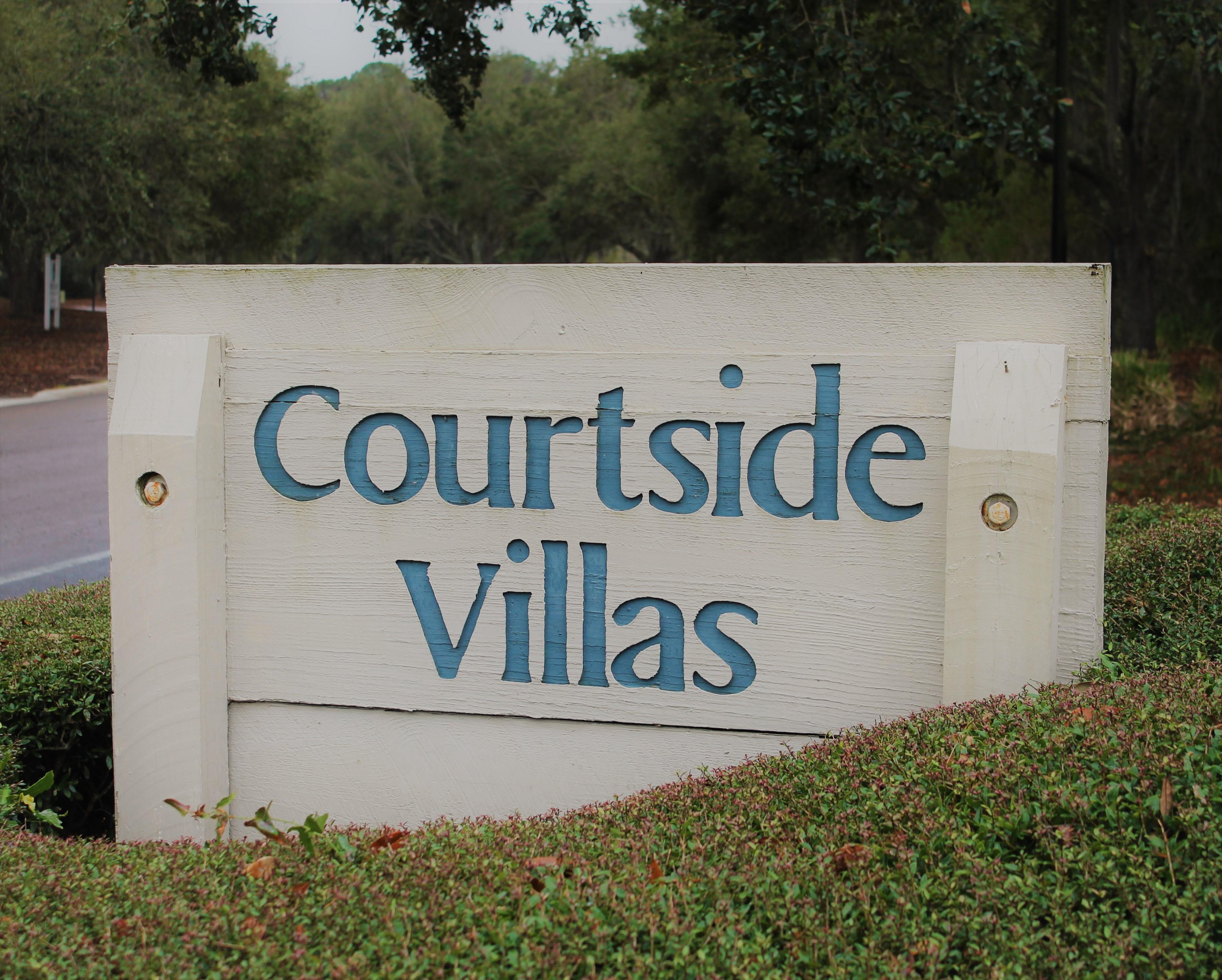 Courtside II Sign