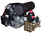 Насосы для поддержания пластового давления (ППД) моноблок с бензиновым двигателем