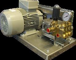 Плунжерный насосс электродвигателем склиноременное соединение
