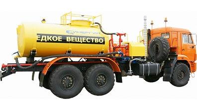 Установка насосная для кислотной обработки скважин