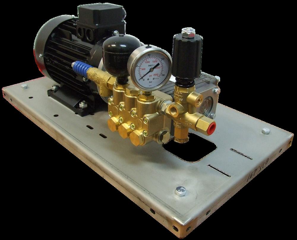 Насосный агрегат и насос высокого давления для гидроиспытаний