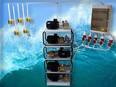 Плунжерные насосы для автомойки для воды