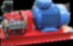 Плунжерный насос для гидроиспытаний P55/18-1200, насосный агрегат