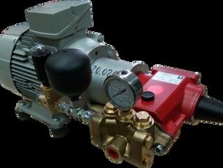 Установка высокого давления на базе насоса P22/28-100