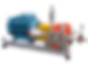 Насосы для поддержания пластового давления (ППД) исполнение на раме