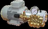 Насосы для поддержания пластового давления (ППД) моноблок с электрическим двигателем