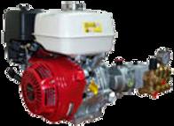 Плунжерный насос SPECK серии NP16/13-220 с бензиновым двигателем