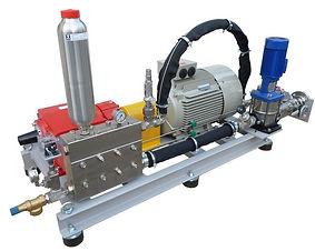 Насосы для поддержания пластового давления (ППД) соединение с электродвигателем через муфту