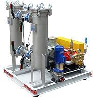 Насосы для поддержания пластового давления (ППД) горизонтальное соединение через клиноременную передачу