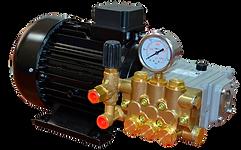 Плунжерный насос SPECK серии NP10/7-150 с электродвигателем сполым валом