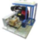 Насосы для поддержания пластового давления (ППД) соединение с бензиновым двигателем через клиноременную передачу