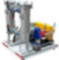 Насосные агрегаты и установки высокого давления для соленой / морской воды