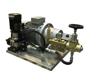 Установка высокого давления на базе насоса NP25/20-500