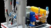 Плунжерная насосная установка по спецзаказу