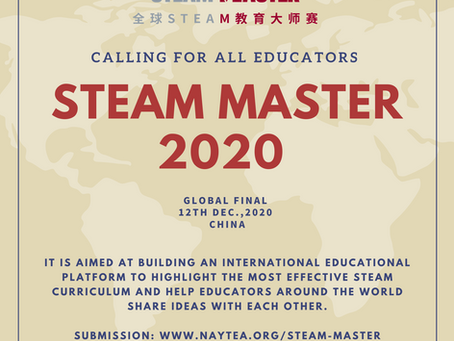 Announcing the Global STEAM MASTERS 2020 Competition!