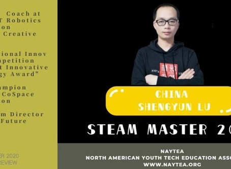 The Ability to Solve Real World Problems - Lecture from STEAM MASTER 2020 Candidate Preview