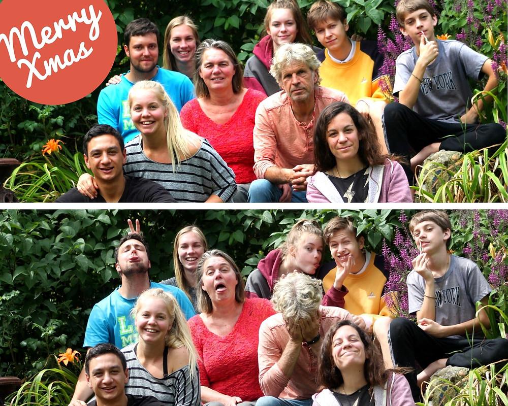 Χριστούγεννα με την οικογενεια Wairarapa, New Zealand