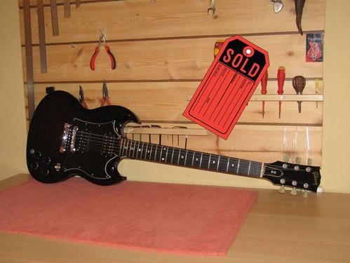 Gibson SG Ebony Fretboard 1996