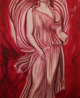 """"""" Αύρα η Μαγεμένη της Θεσσαλονίκης"""". Art by Anna Dimaki"""