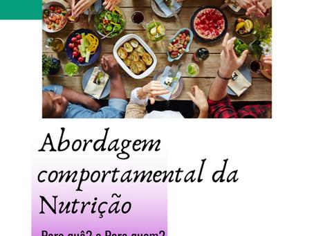 Abordagem Comportamental da Nutrição