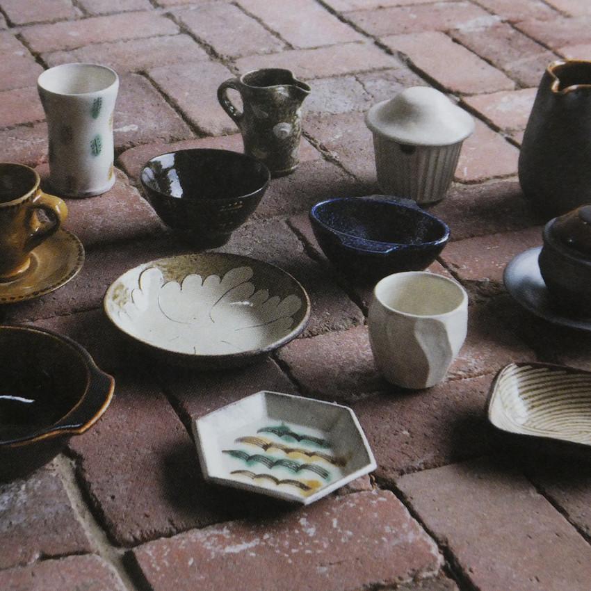岩井窯の作品たち